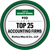 Award-2016 Top 25 accounting firms