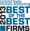 Award-2013 Best of the Best Firms
