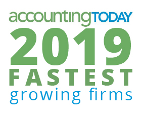 Accounting Today Award-2019 Fastest Growing Firms