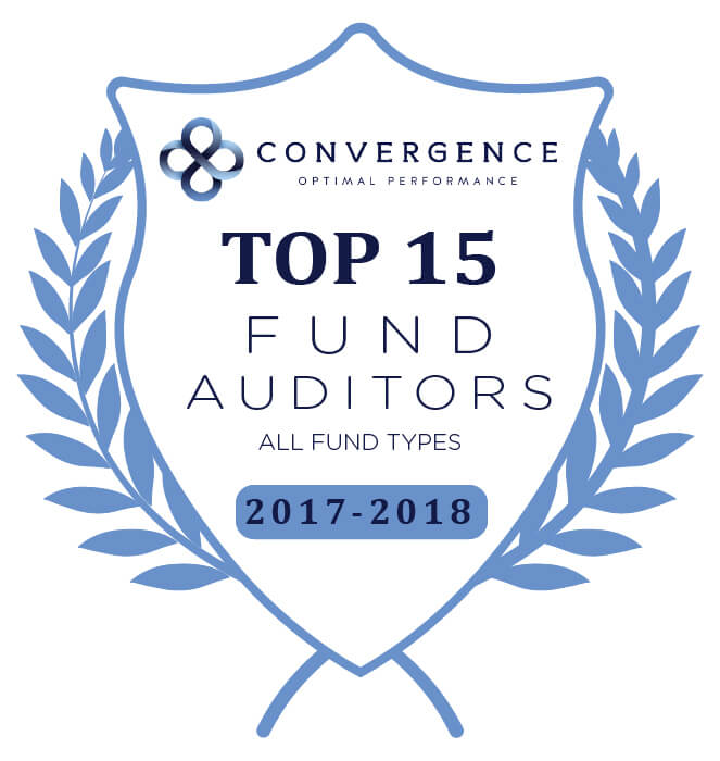 Award - 2018 Convergence Top Auditors