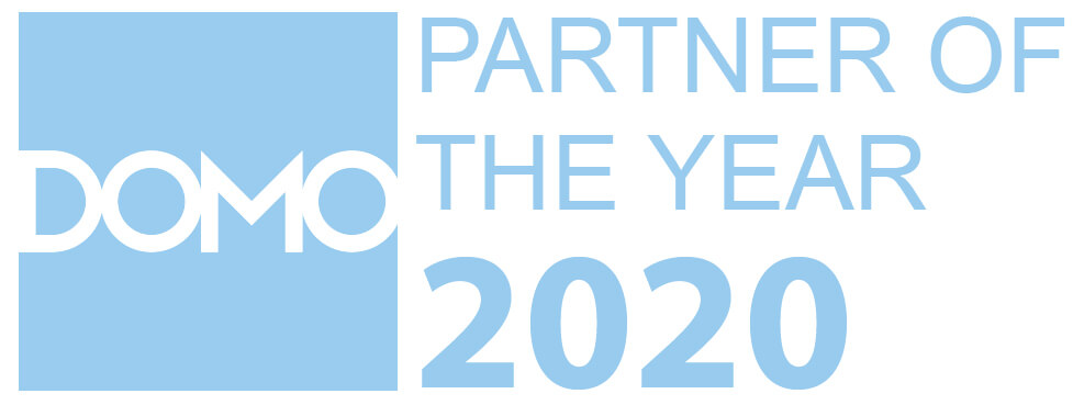 DOMO named our RM Analyze team Partner of the Year in 2020