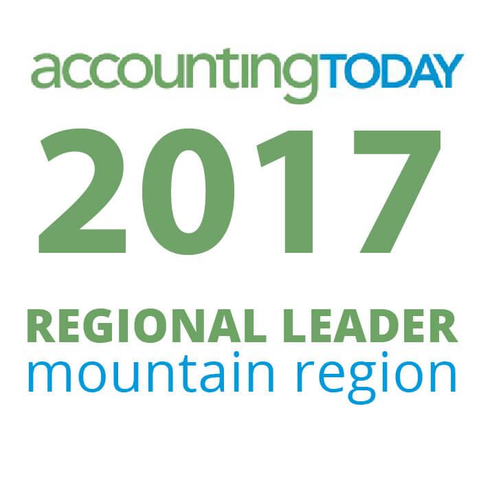 Award - 2017 Accounting Today Regional Leader
