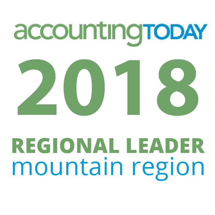 Award - 2018 Accounting Today Regional Leader