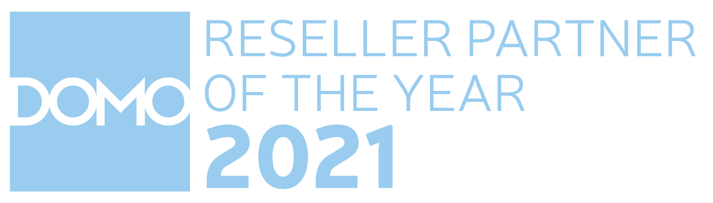 DOMO - reseller partner of the year 2021 title