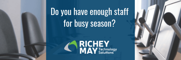 Do you have enough staff for busy season?