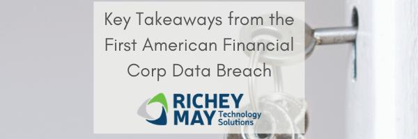 Mortgage Industry Data Breach