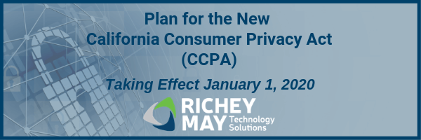 California's Consumer Privacy Act (CCPA)