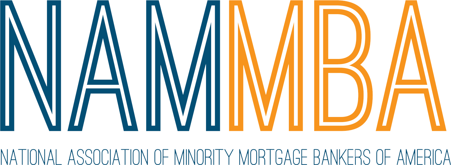 NAMBA National Association of Minority Mortgage Bankers of America logo and title