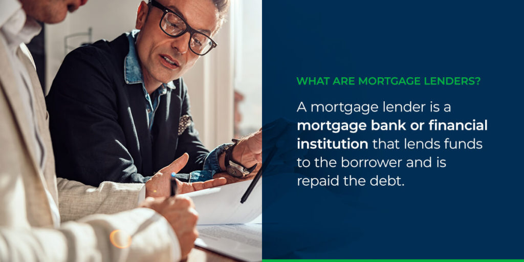 What Are Mortgage Lenders?